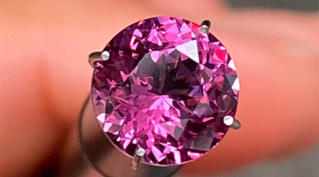 Hey, January Babies! Rhodolite Garnet Is the Pink Variety of Your Official Birthstone